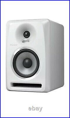 NEW Pioneer S-DJ50X-W Active DJ Monitor Speaker WHITE SINGLE Powered 5 Inch