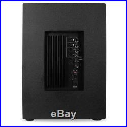 PA Speaker DJ Hi Fi Active Subwoofer Stand Mountable 18 Inch Sub Bass 1250W RMS