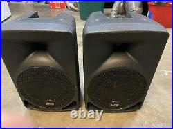 Pair of ALTO TX8 280w 8-Inch Two-Way Active Loudspeakers