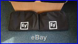 Pair of Electro-voice ZLX-15P 15 Inch Active PA Speakers with Covers