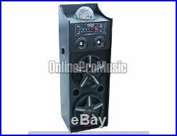 Patron Audio Pro PLS2000MP3 Dual 10-Inch PA DJ Speaker System with SD/USB Reader