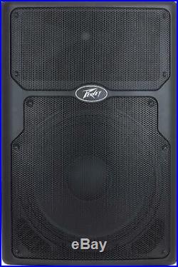 Peavey 3616470 15-Inch Heavy Duty Woofer PVX p 15 DSP 2 Way 630W Power Speaker