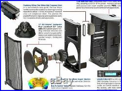 Peavey RBN112 2-Way Full Range 52Hz-20KHz Coverage Speaker, 15x24x15 Inches