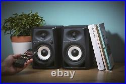 Pioneer DM-40BT, 4 Inches Desktop Monitor Speakers (Pair) Black