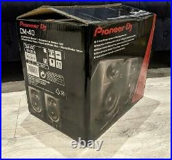 Pioneer DM40 Active Monitor Speakers 4 inch active monitor Perfect Condition