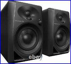Pioneer Dm-40 4-inch Compact Active Monitor Speaker (black)