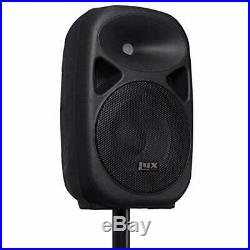 Portable Speaker Bluetooth 100 Watt 8 inch Compact Equalizer SD Slot USB MP3