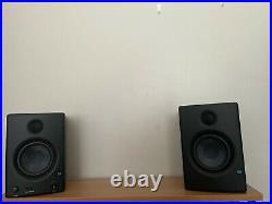 PreSonus Eris E4.5 4.5-inch, 2-way, HD Active Studio Monitors (Pair) Black