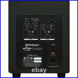 PreSonus Eris Sub8 8-Inch 100W Compact Powered Studio Subwoofer Black