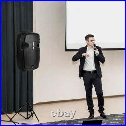 Pyle PPHP1299WU Bluetooth PA Loudspeaker 12'' -inch Subwoofer, 1000 Watt, 2 Mics