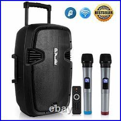 Pyle Pphp1299wu Portable Hi-power Bluetooth Pa Loudspeaker, 12-inch