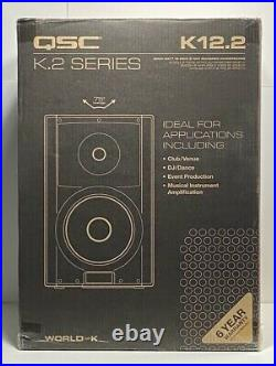 QSC K12.2 K. 2 Series 2000 Watt 12 Inch 2-Way Powered DJ PA LoudSpeaker