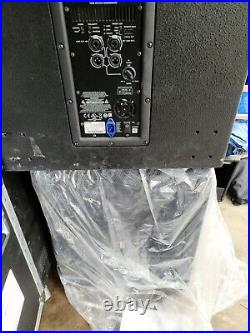 QSC KW181 1000W Powered 18 inch Subwoofer TESTED, WORKS 4 OF 4