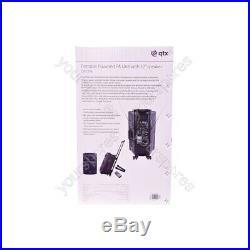 QTX QR Series Portable Powered PA Units QR12PA 12 inch