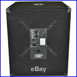 QTX QT Series Active Sub Cabinets QT18SA 18inch, 1000W