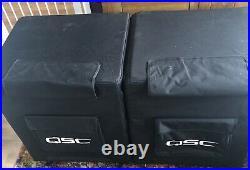 Qsc Kw181 Active 18-inch Subwoofer X2