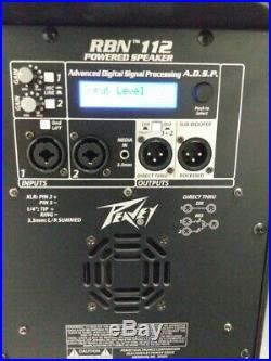 RBN 112 1500-Watt 12 inch Powered Speaker (PAIR)