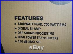 RCF HD 12-A MK4 HD12A Active 1400 Watt 2-Way 12-inch Powered Speaker