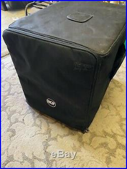 RCF SUB 902-AS 7 series active 12 inch Subwoofer with Padded Cover