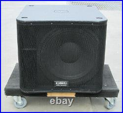 SINGLE QSC KW181 1000W Powered 18 Inch Subwoofer Speaker