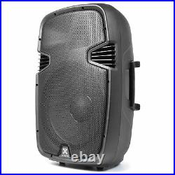 SPJ-1500A 15 Inch Active Powered PA Speaker Moulded ABS DJ Stage Monitor 800W