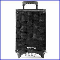 ST050 8 Inch Portable Active Bluetooth PA Speaker MP3 USB DJ VHF Microphone 50W