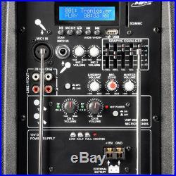 Skytec 170.075 12 Inch Active Bluetooth PA Speaker & Mics 500W