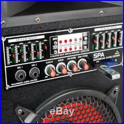 Skytec 170.149 12 Inch Active Passive Speaker Set 1200W