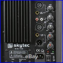 Skytec 170.313 SP1200A 12 Inch Active DJ Speaker 600W