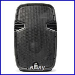 Skytec 178.027 12 Inch Active DJ Speaker 600W SoundSak Universal Carry Bag