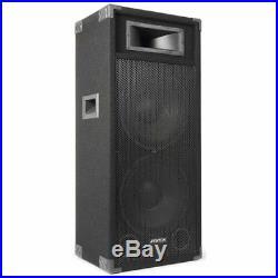 Skytec 178.486 Dual 15 Inch Active DJ Speaker 1600W