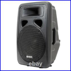 Skytec SP 12 Inch 600W ABS Speaker + SWA15 Subwoofer + Pole + Cables