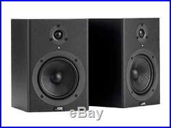 Stage Right by 5-inch Powered Studio Multimedia Monitor Speakers (pair)