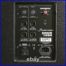 Studiomaster DRIVE15SA 15 Inch Active DJ Subwoofer 400W