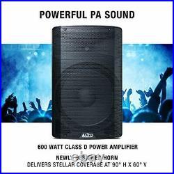 TX215 600-Watt 15-Inch 2-Way Powered Loudspeakers With Active 15 Woofer