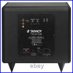 Tannoy TS2.8 Active Subwoofer (Powered Sub 8 Inch Home Speaker) Walnut NEW