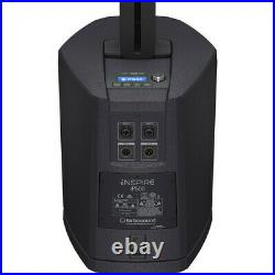 Turbosound INSPIRE iP500 V2 Powered Column Loudspeaker with 8 inch Subwoofer