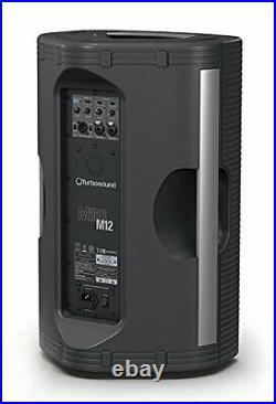 Turbosound M12, 12 Inch 1100-Watt Powered Loudspeaker