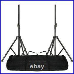 V3 RS15A 3200W IPP Active DJ PA Club 15 Inch Speaker Package With Stands Cables