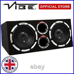 VIBE 2400 Watts 12 inch Active Bass Enclosure SLICK CBR 12 subwoofer speaker amp