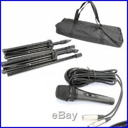 Vexus 170.118 10 Inch Active Bluetooth Mixer PA Speaker Mics 300W SSC0492