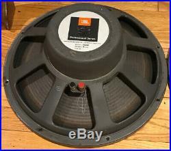 Vintage JBL 2220B 15-Inch Woofers 15 Speaker 16-OHM