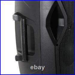 Vonyx 15 Inch Active PA 2-Way Loud Speaker DJ Monitor Party System EQ 800W