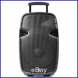 Vonyx 170.080 15 Inch Active Bluetooth PA Speaker & Mics 700W