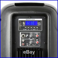Vonyx 170.344 10 Inch Bluetooth Active PA Speaker 400W