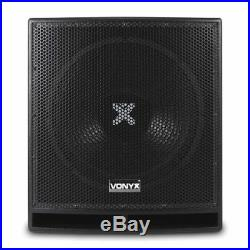 Vonyx 170.823 15 Inch Active DJ Subwoofer 800W