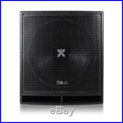 Vonyx 170.826 18 Inch Active DJ Subwoofer 1200W