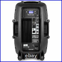 Vonyx 178.042 12 Inch Active Bluetooth DJ Speaker 600W