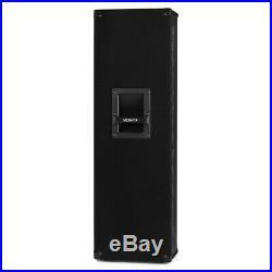 Vonyx 178.493 CVB212 PA Speaker Active 2x 12 inch BT MP3 1200W