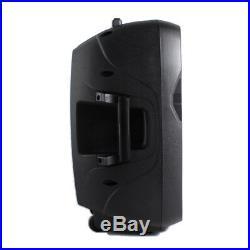 Vonyx AP1200PA 12 Inch Active Powered Speaker Portable Bluetooth VHF Mics 600W